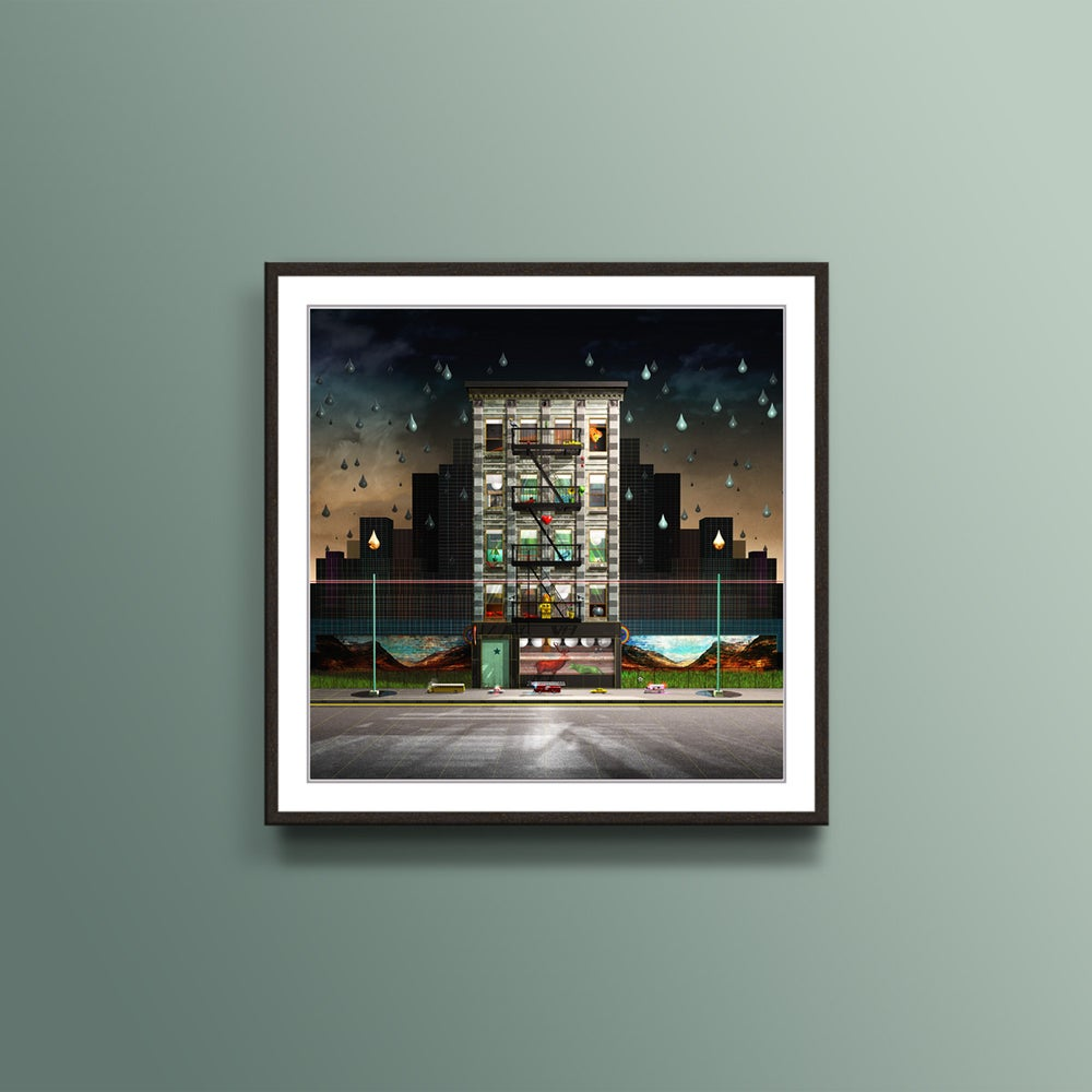 Image of Scotland in New York Apartment Print
