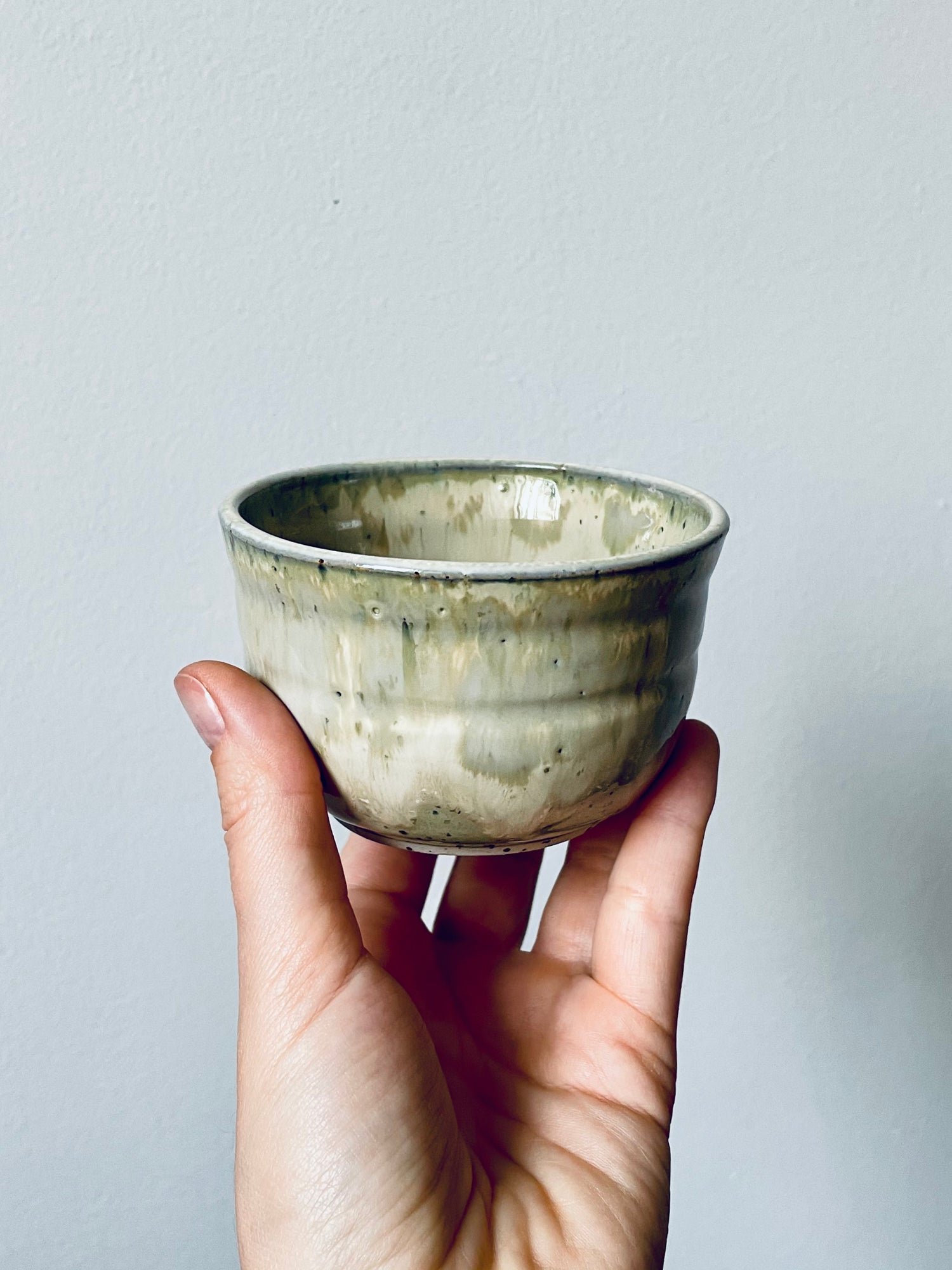 Image of Pistachio Stoneware Cup #3