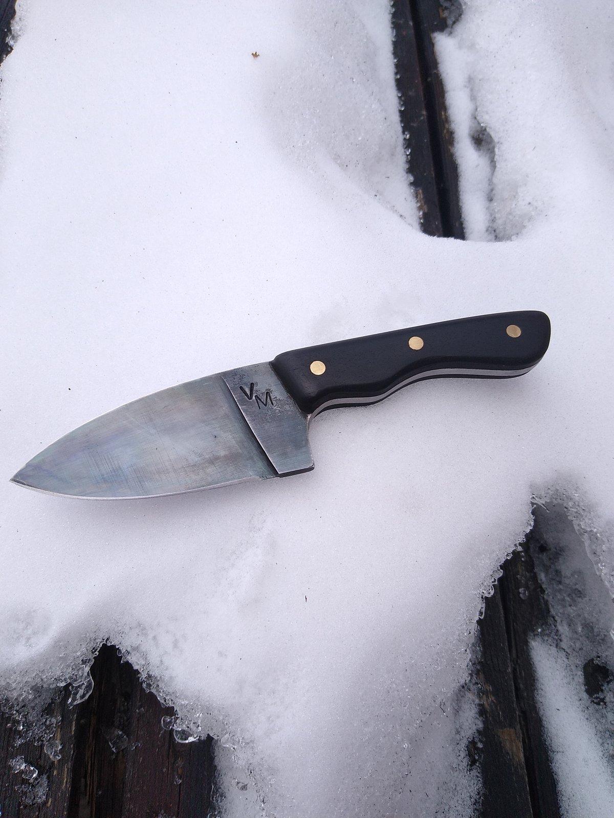 Image of Handmade drop point blade