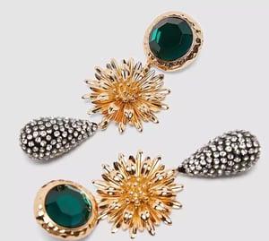 Image of Bohemian sunflower Earrings