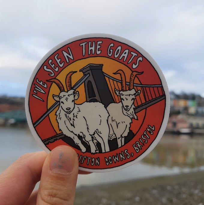 Image of I've Seen The Goats Sticker