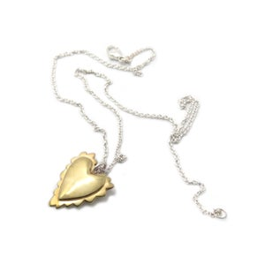 Image of TUBBY HEART NECKLACE
