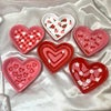 heart jewelry dishes