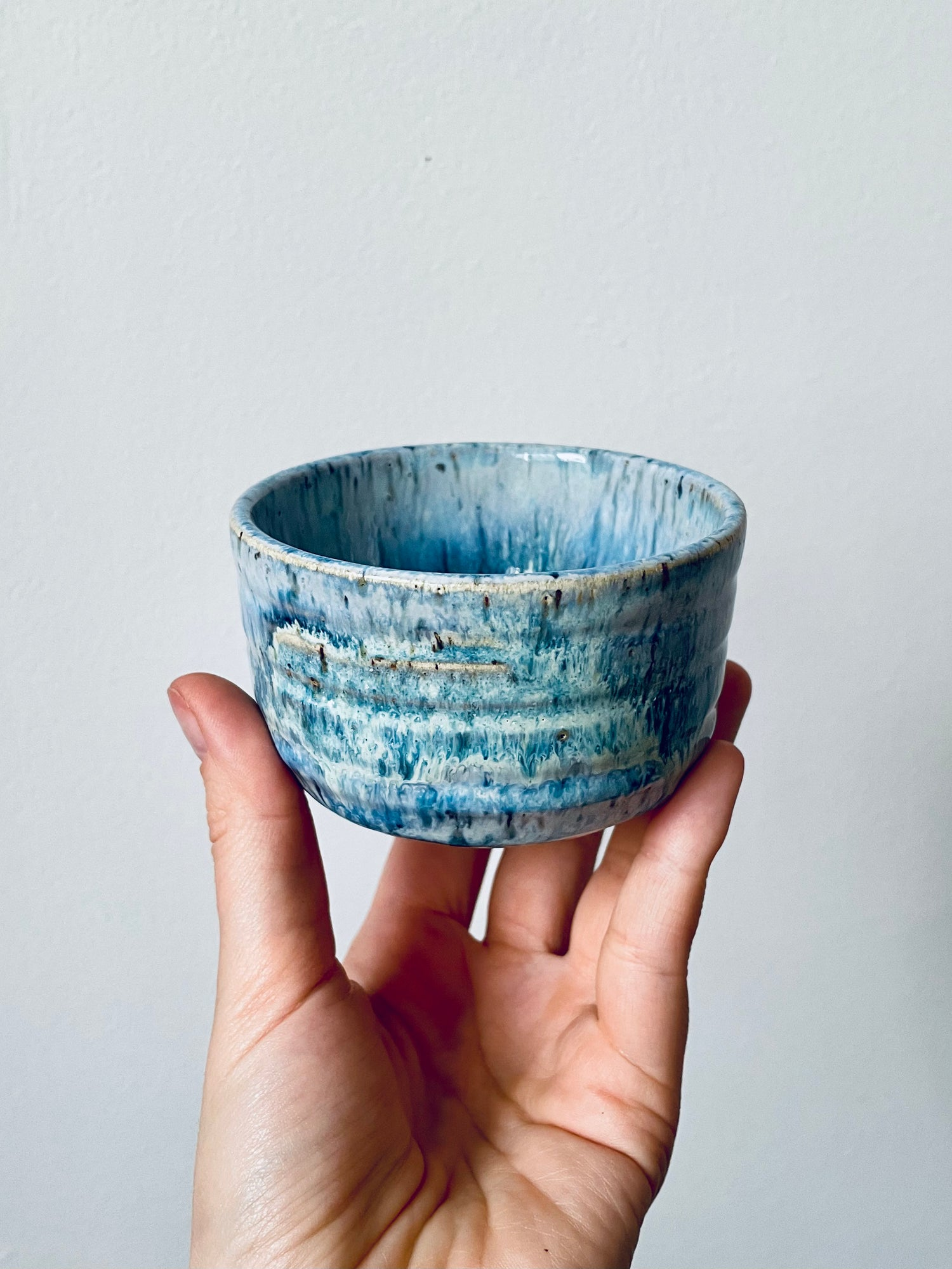 Image of Blue Lagoon Stoneware Cup #2