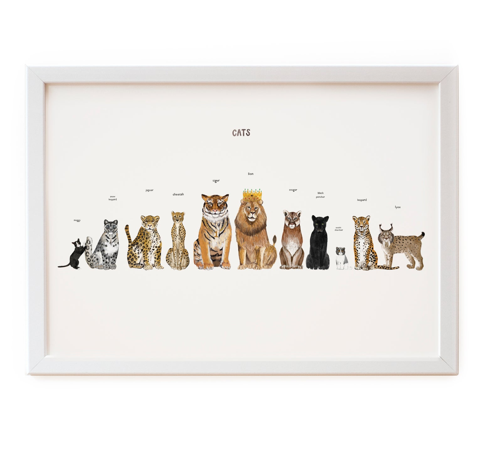 Image of Cats Print