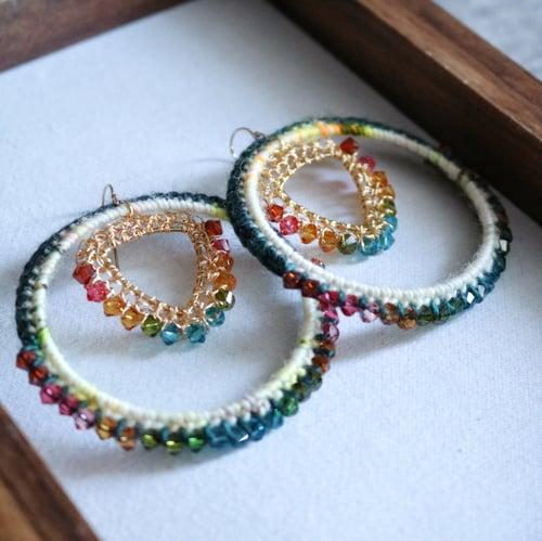 Image of BERMUDA Hoop Earrings