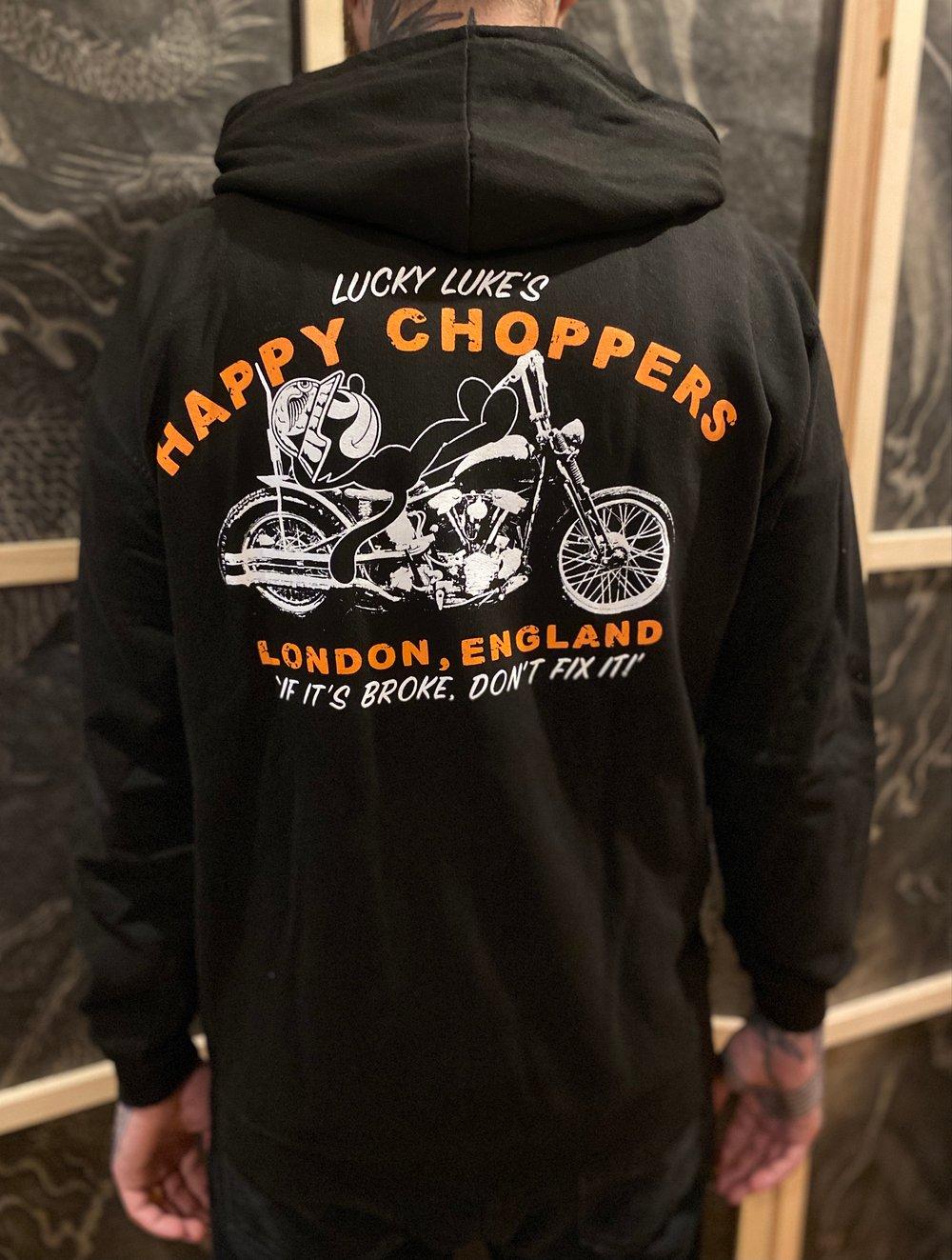 Image of Happy Choppers Zip Hood