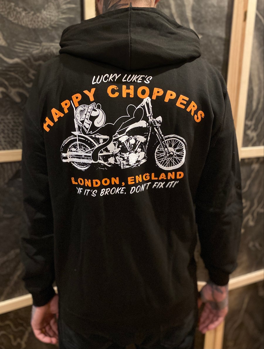 Image of Happy Choppers Zip Hood