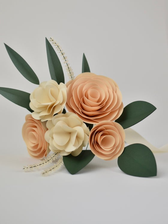 Image of Bouquet Rose Crema