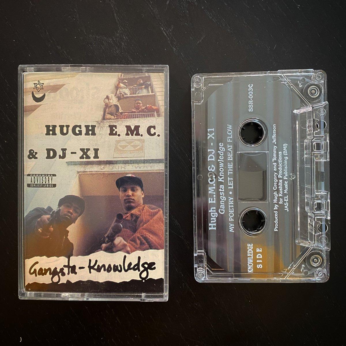 "Image of HUGH E MC ❌DJ X1 ""Gangsta Knowledge"""