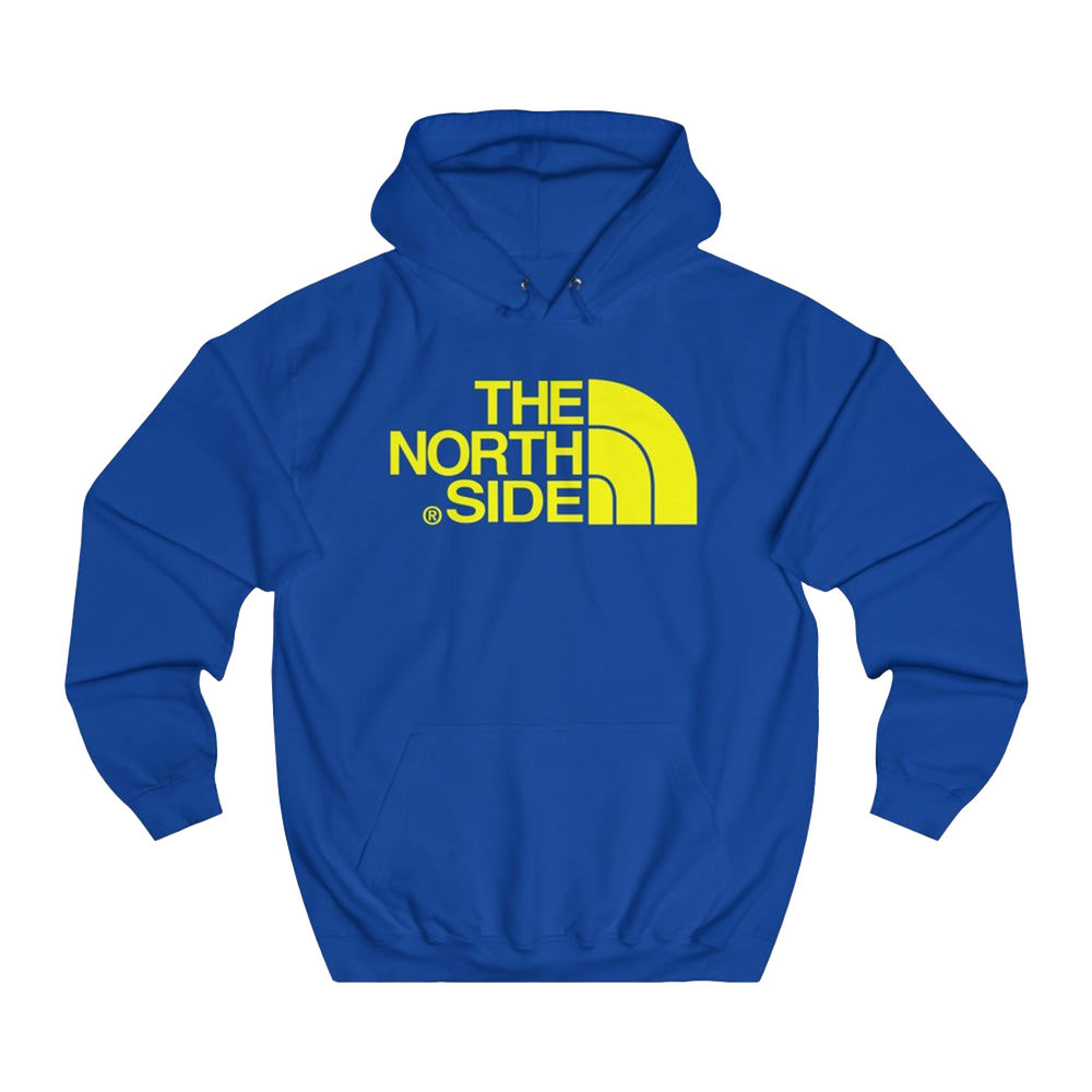 The North Side Hoodie Yellow Print So Odō