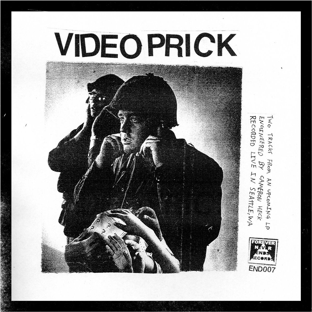 Image of VIDEO PRICK - Two Tracks Flexi