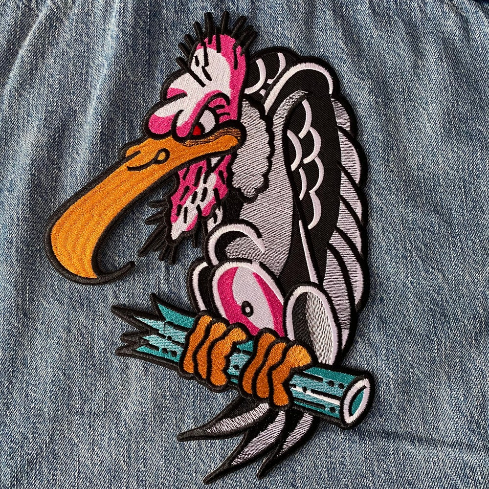 Image of Cretin Vulture Patch