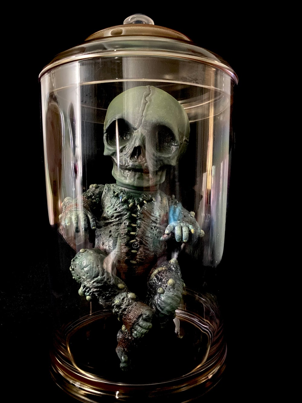 "Image of ""Abandoned"" Fetoid in jar"