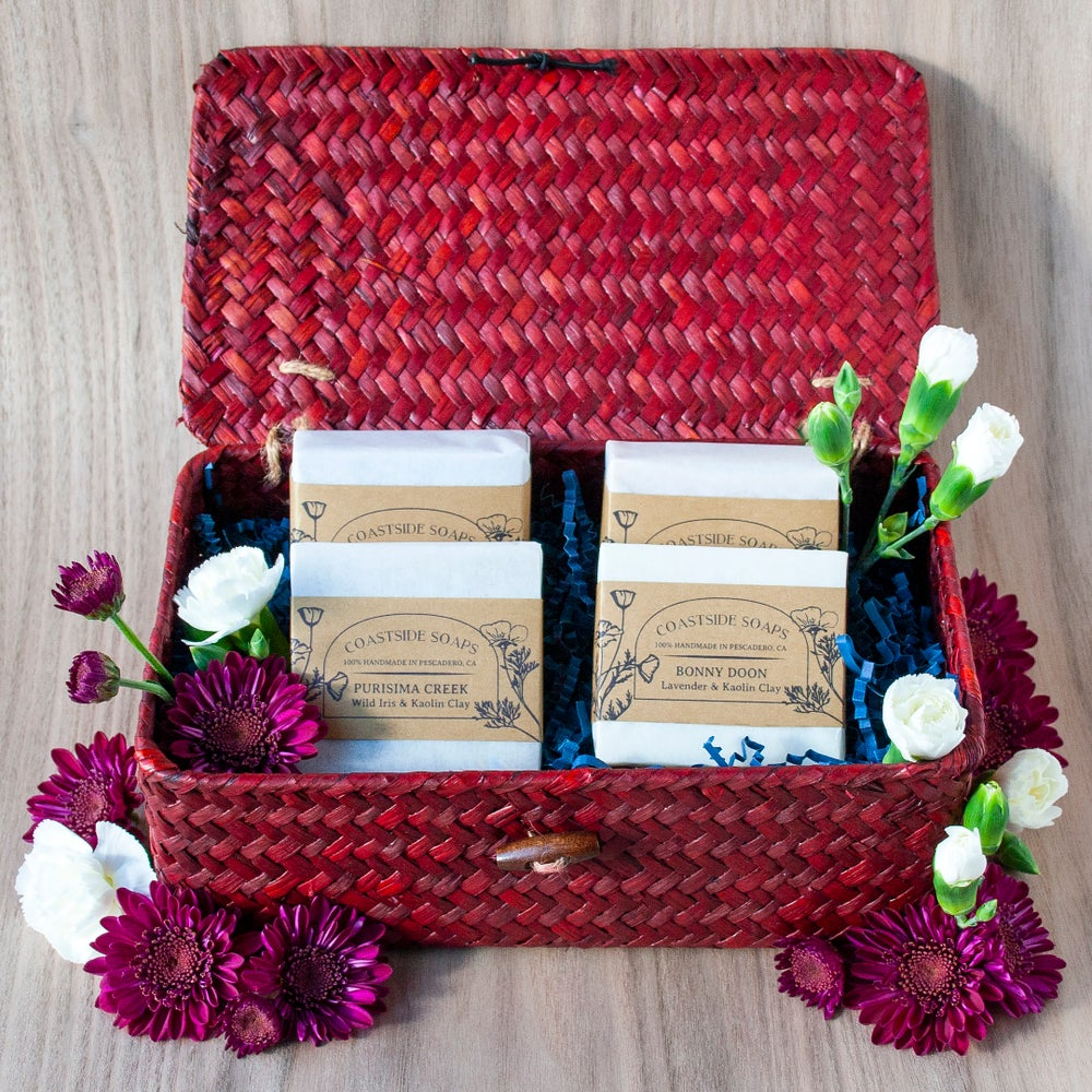 Image of Botanical Soap Collection Gift Set