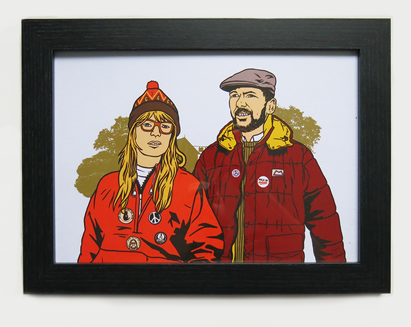 Image of 'THE PRATTS' A4 PRINT