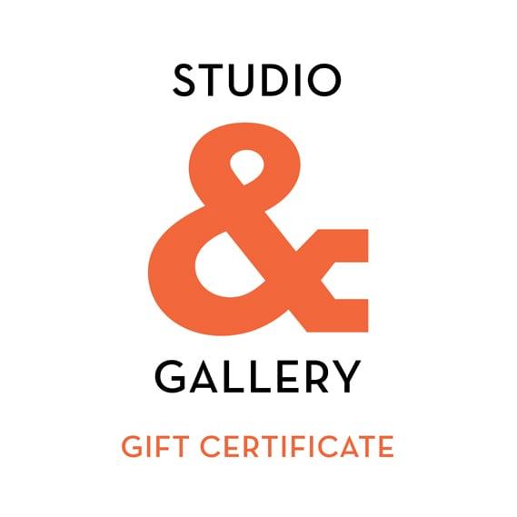 Image of Studio & Gift Certificate