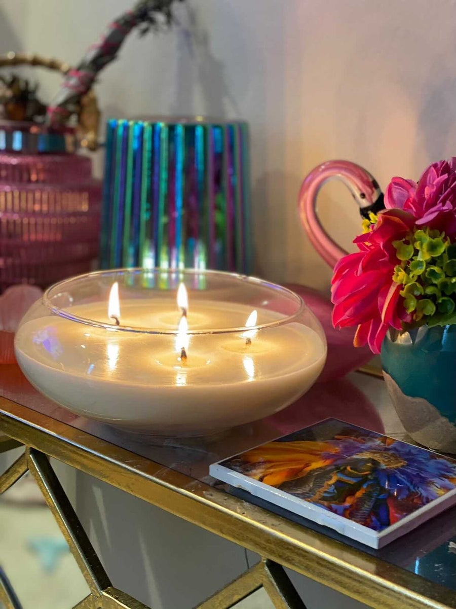 Image of 40oz ARMX Lux 4-Wick Candle Bowl