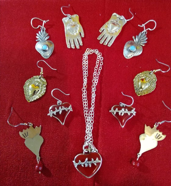 Image of Assorted corazon jewelry