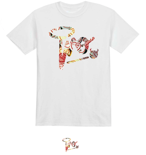 Image of Limited Edition | Love Heart Signature t-shirt | White