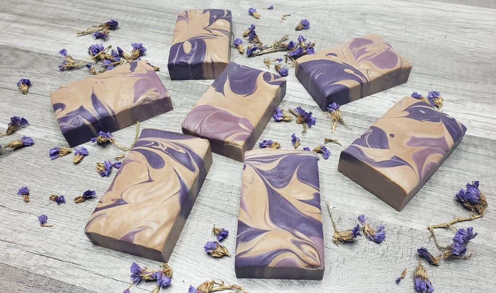Image of Coconut Lavender Handmade Cold Process Soap