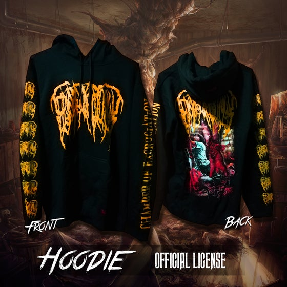 Image of Chamber Of Excruciation hoodie