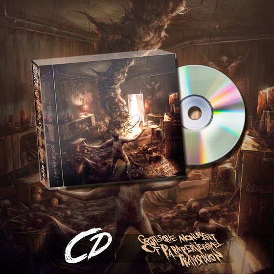 Image of Grotesque Monument Of Paraperversive Transfixion CD