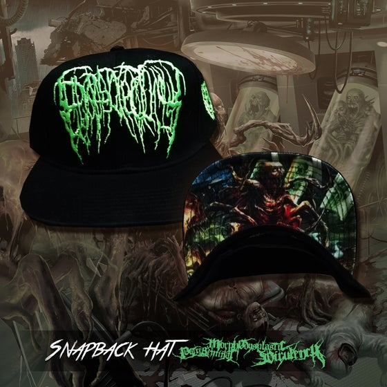 Image of Putreseminal Morphodysplastic Virulency snapback hat