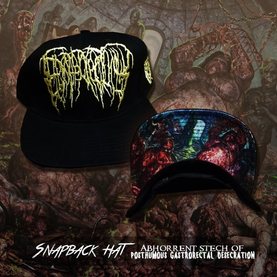 Image of Abhorrent Stench Of Posthumous Gastrorectal Desecration snapback hat