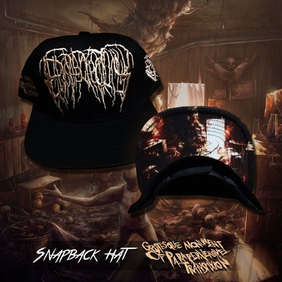 Image of Grotesque Monument Of Paraperversive Transfixion snapback hat