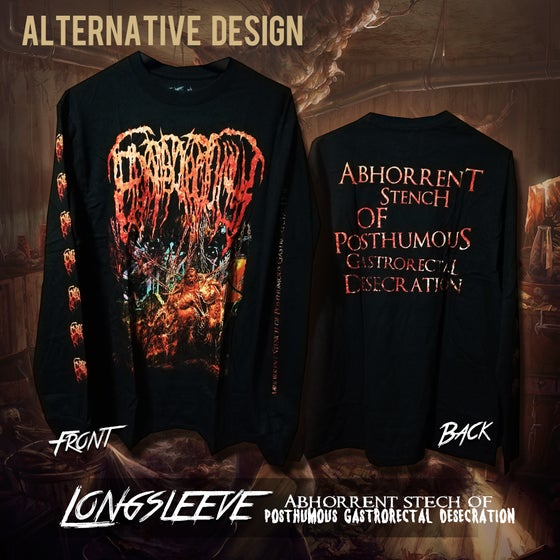 Image of Abhorrent Stench Of Posthumous Gastrorectal Desecration longsleeve