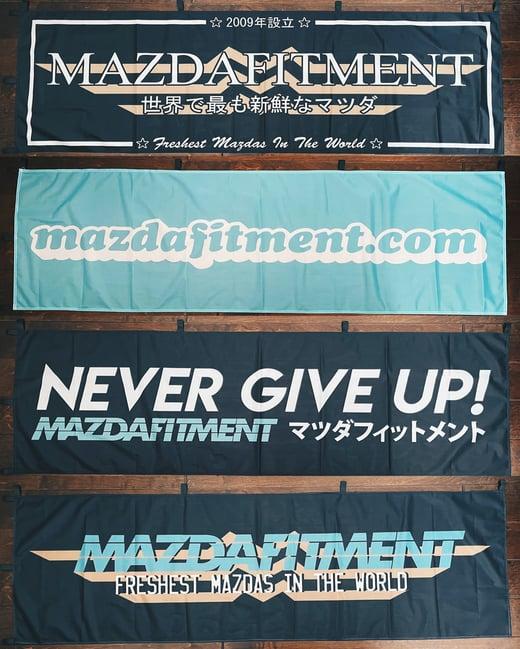 MAZDA FITMENT NOBORI FLAG BANNERS