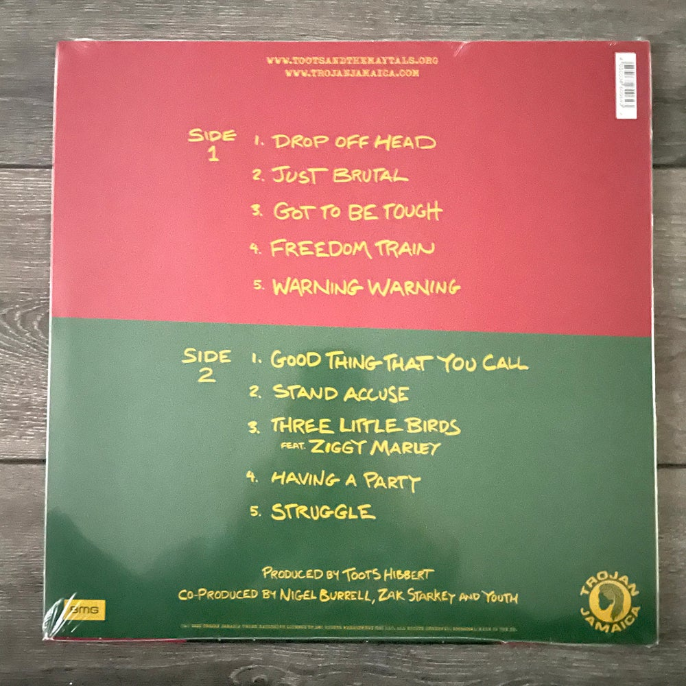 Image of Toots And The Maytals - Got To Be Tough Vinyl LP