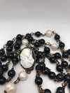 Onyx & Pearl Madonna of the Streets Rosary