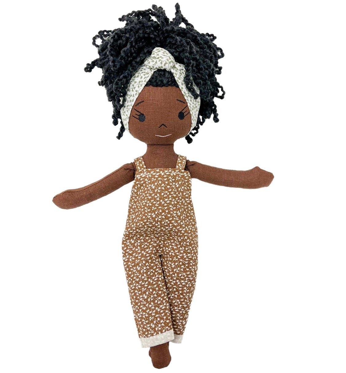 Tiana Handmade Linen Doll (AVAILABLE JULY 1 2021)