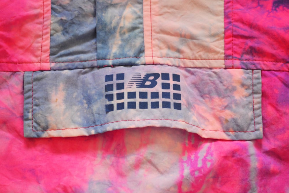 Image of Vintage 1990's New Balance Tie Dye Anorak Windbreaker Jacket Sz.S (Women's)