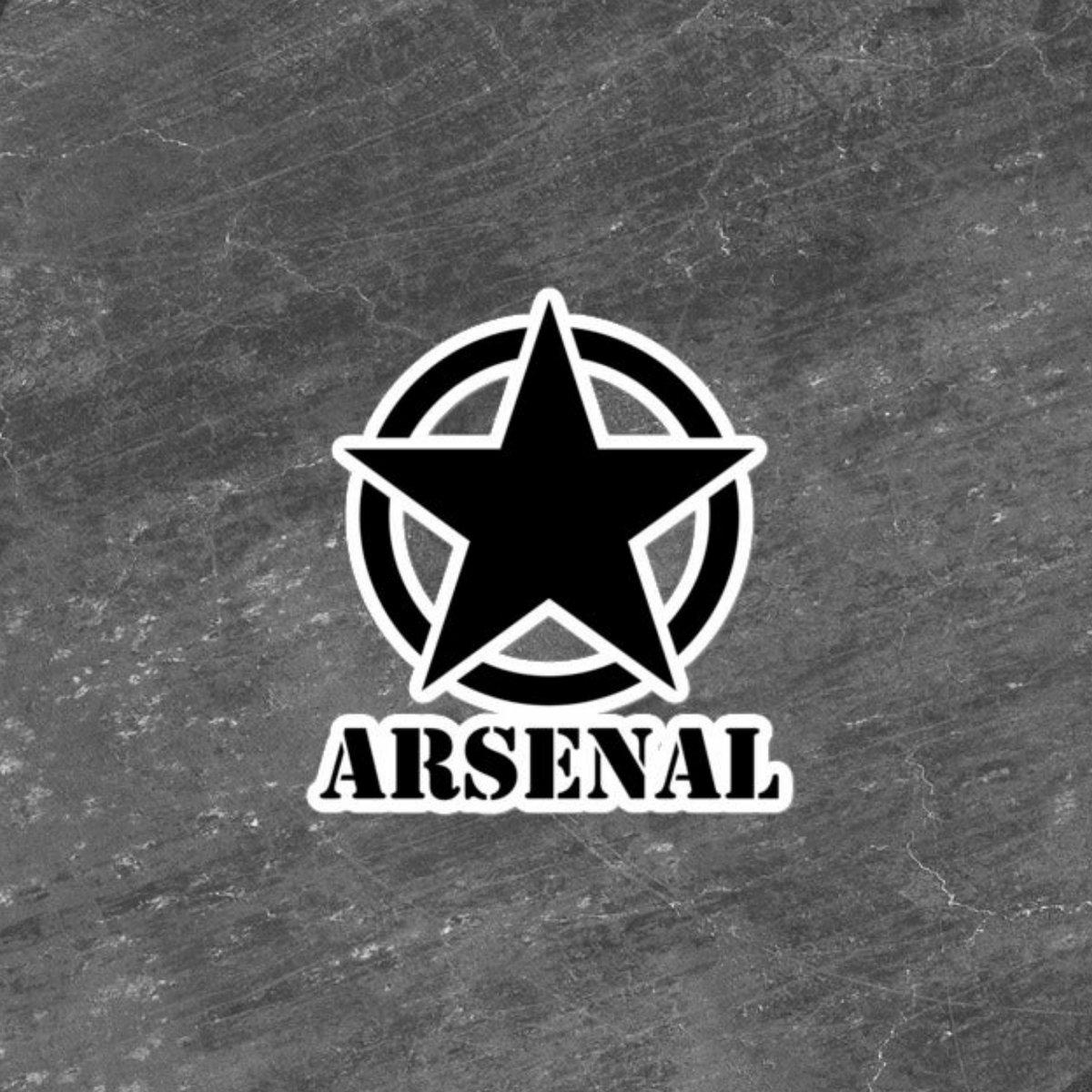 Image of Arsenal Army Sticker