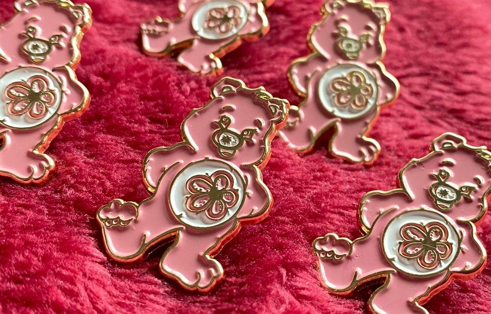 Blossom Bear Pin