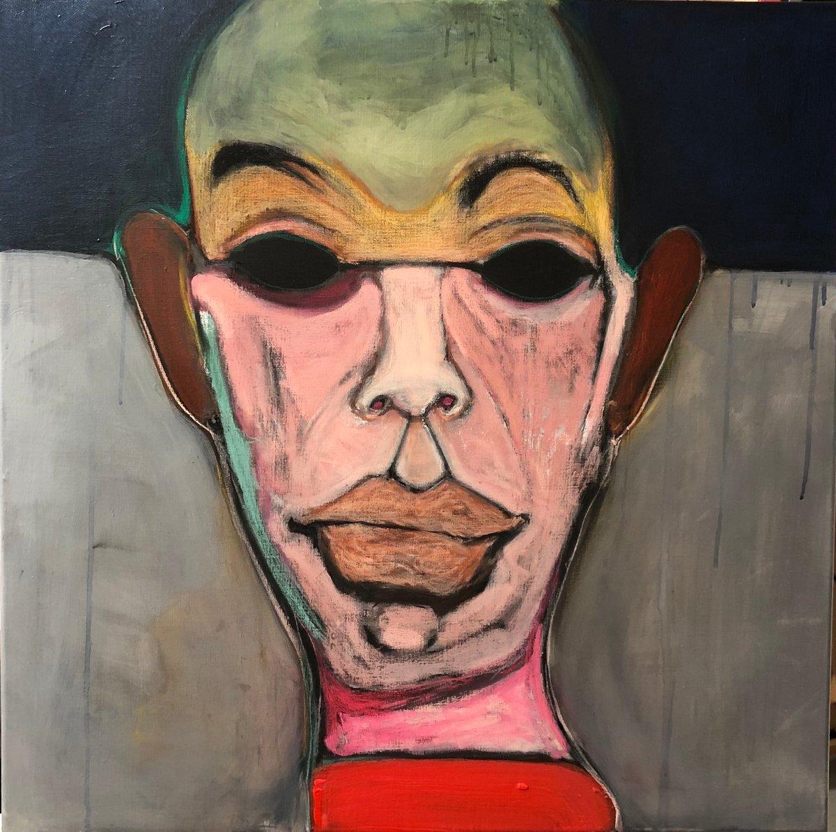 Image of Matrix Man original painting