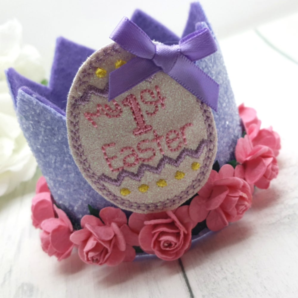 Image of My 1st Easter Crown - Lilac/Pink