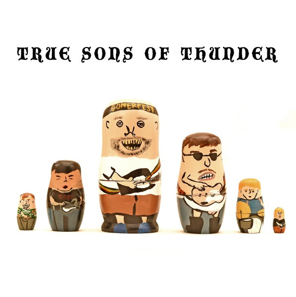Image of TRUE SONS OF THUNDEER - It was then that I was Carrying you LP