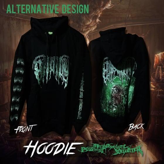 Image of Putreseminal Morphodysplastic Virulency pullover hoodie