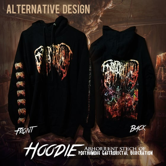 Image of Abhorrent Stench Of Posthumous Gastrorectal Desecration pullover hoodie