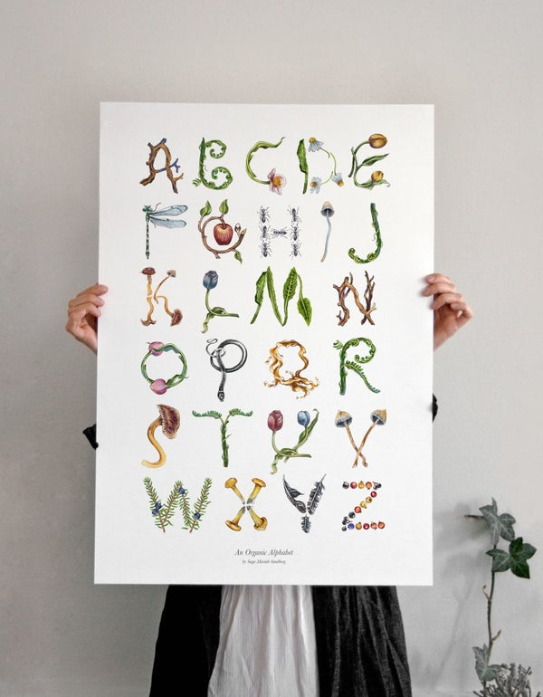 Image of AN ORGANIC ALPHABET