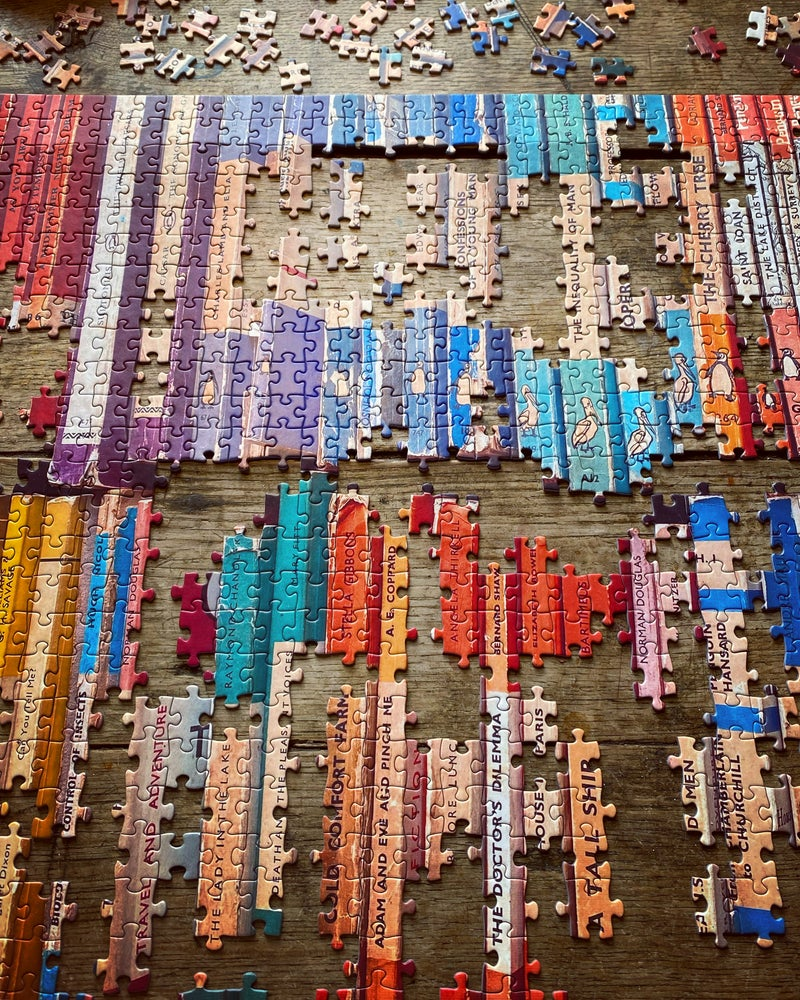 Image of 'Vintage Book Collection' 1000 Piece Jigsaw