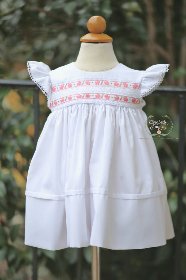 Image of Vintage Bunny High Yoke Legacy Dress