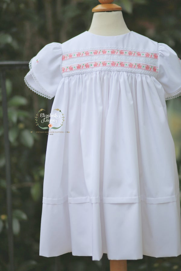 Image of Vintage Bunny High Yoke Legacy Dress
