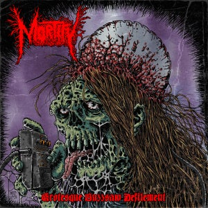 "Image of Mortify ""Grotesque Buzzsaw Defilement"" Digi-Sleeve CD"