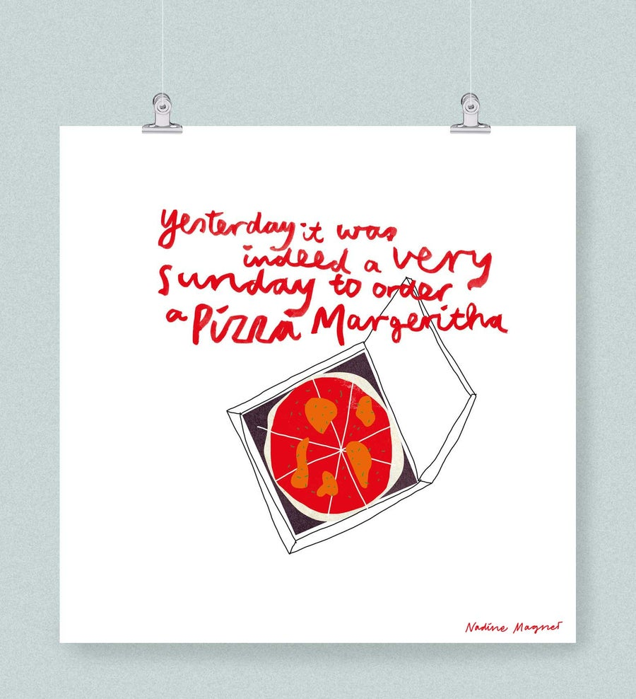 Image of Pizza Margeritha