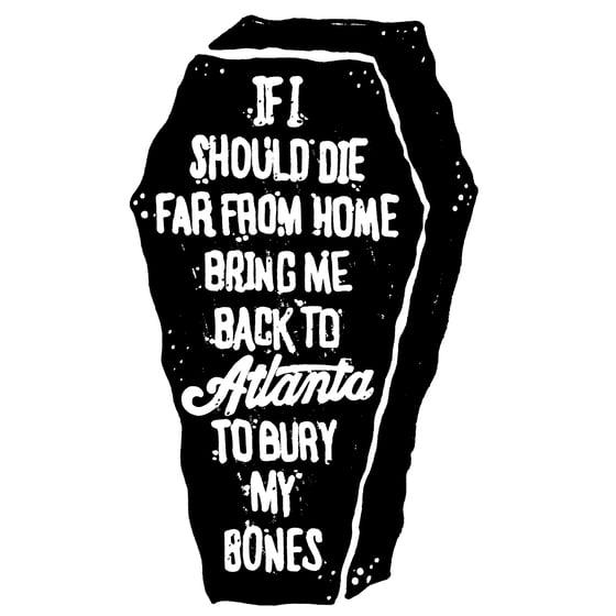 Image of IBA Coffin Sticker